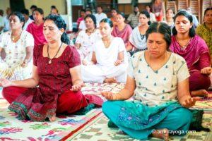 Amrita yoga retreat at amritapuri