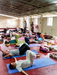 Real Source of Joy is Within Us – A Visit to Amritapuri Amrita Yoga