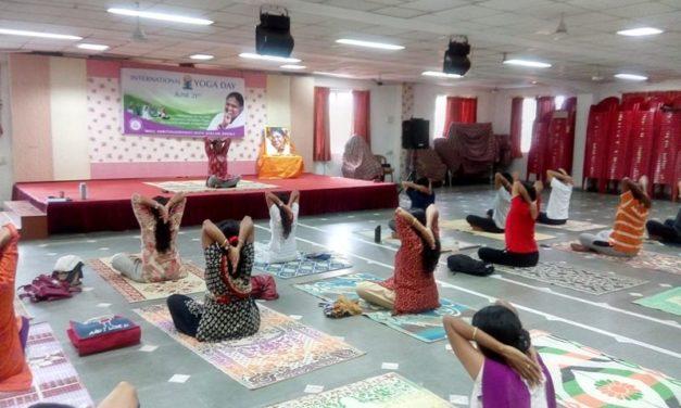 Yoga for Harmony and Peace – International Yoga Day celebration with Amrita Yoga at Mata Amritanandamayi Math, Mumbai