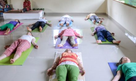 Feeling the relaxation in Savasana at anytime, anywhere!