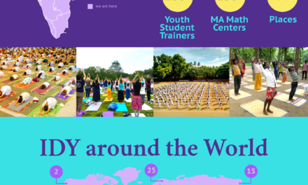 OUR REACH: Mata Amritanandamayi Math ​​#Yoga4Harmony​ #IDY2016