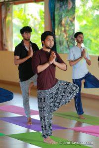 amrita yoga standing pose
