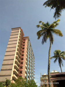 Amrita Darshan flat building at amritapuri