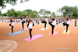 Amrita Vidyalayam Ettimadai amrita yoga IDY