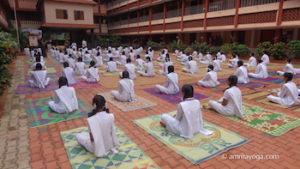 amrita yoga at amrita vidyalayam school