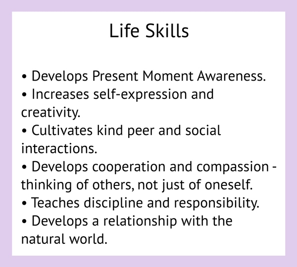 Life Skills list for Amrita Yoga