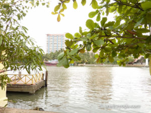 Amritapuri ashram backwaters