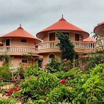 round-rooms-at-amritapuri-ashram