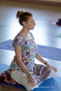 Amrita Yoga silent retreat meditation