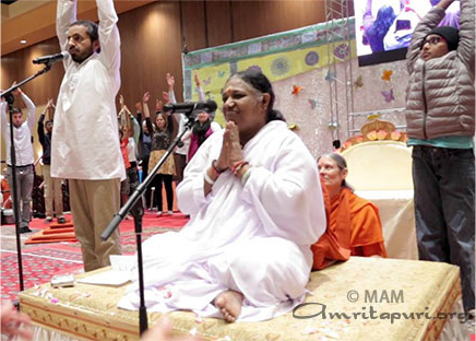 amma pic for IDY 2017 amrita yoga