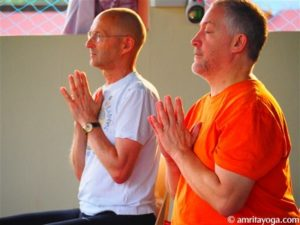 devotion practice at amrita yoga retreat