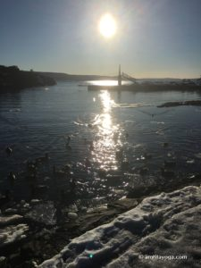 amrita yoga icy sunset watermarked