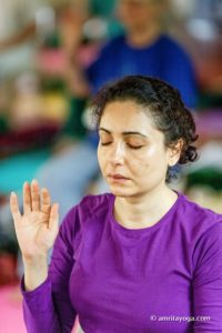 amrita yoga purple shirt watermarked