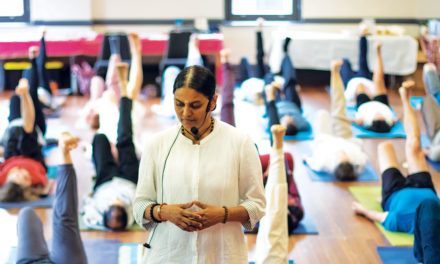 Flower of Amrita Yoga Blooms in Australia and New Zealand