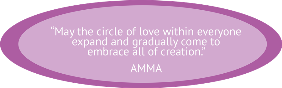 amrita yoga flowers for who we are page