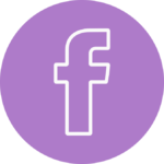 fb circular logo ay purple
