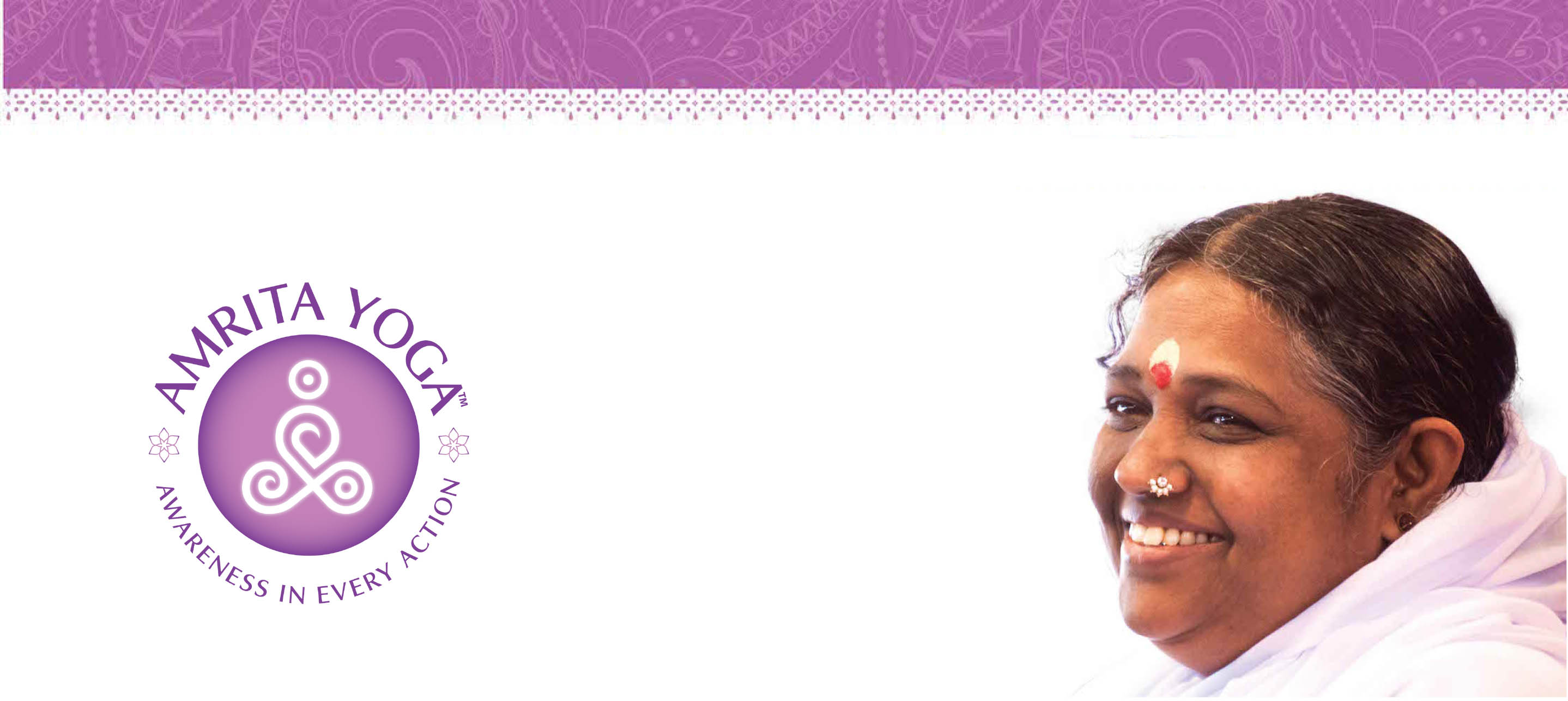 amma pic for header of amrita yoga who we are page