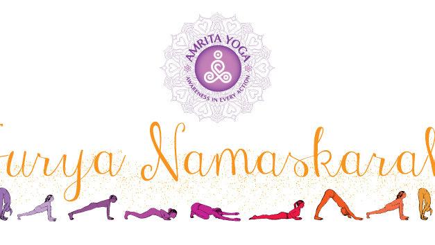 Can Amma explain the benefits of practicing Surya Namaskarah?