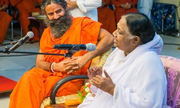 """Amma is My Greatest Inspiration and Ultimate Ideal"" – Baba Ramdev"