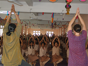 Amrita Yoga at Amrita Vidyalayams
