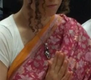 Amma's Essence of love and acceptance in Amrita Yoga, Amritapuri, India
