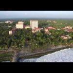 Aerial footage of Amritapuri Ashram 2015 Amritapuri Ashram