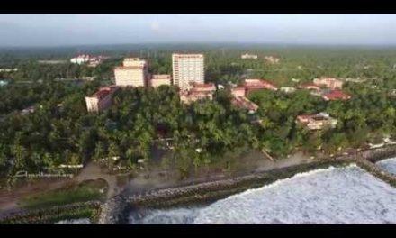 Aerial footage of Amritapuri Ashram 2015