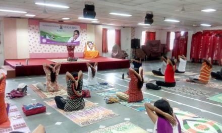 Yoga for Harmony and Peace – International Yoga Day celebration with Amrita Yoga at Mata Amritanandamayi Math, Mumbai