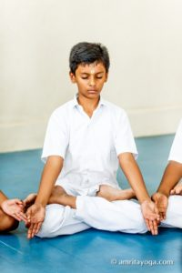 youth meditation, letting go of tension