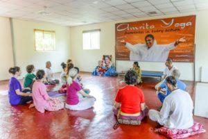 amrita yoga class meeting upasana