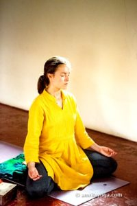 meditation asana pose