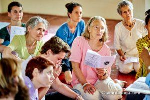 amrita yoga class discussion upasana
