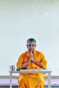 brahmachari namaste and dharma talk