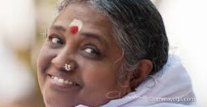 Amma pic for Amrita Yoga time management