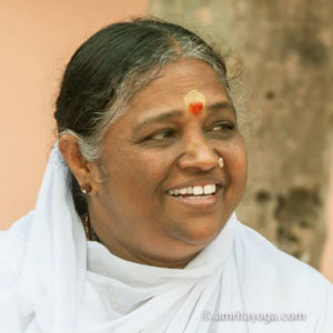 Amma, the founder and creator of Amrita Yoga
