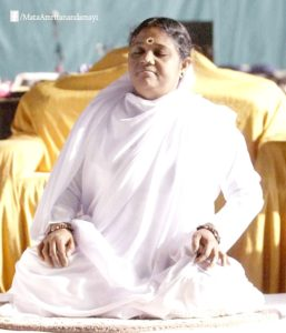 Amma Meditating Spine Straight