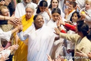 Amma at program in France