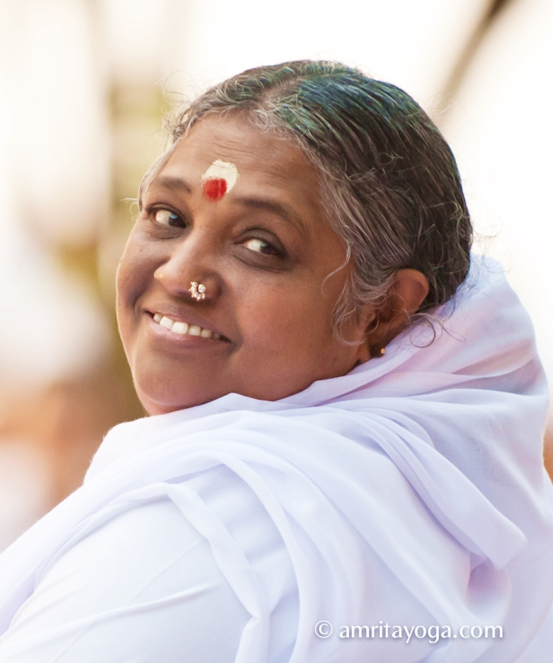 Amma's Time Management – Unique and Yogic Style