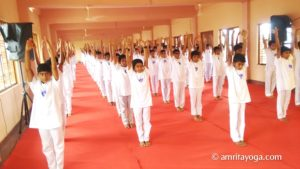 Amrita Vidyalayam Kannur amrita yoga IDY