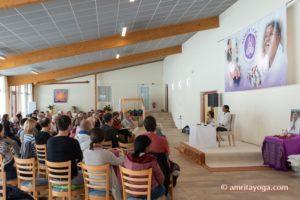 Amrita Yoga satsang gathering