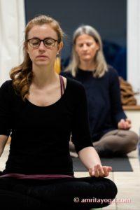 Amrita Yoga padmasana meditation europe tour