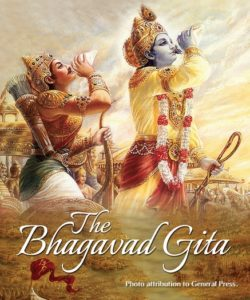 Bhagavad Gita Photo by General Press, watermarked