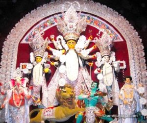 Goddess Divine Mother Durga puja for Navaratri