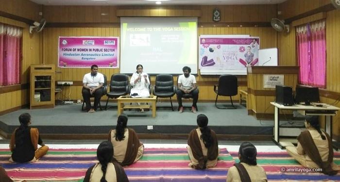 IDY2017-HAL-Women's Wing-Bengaluru-Karnataka