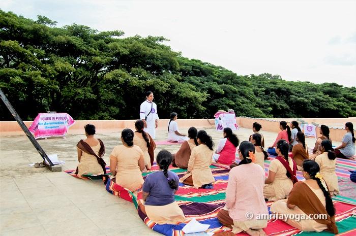 IDY2018-HAL-Women's Wing-Bengaluru-Karnataka