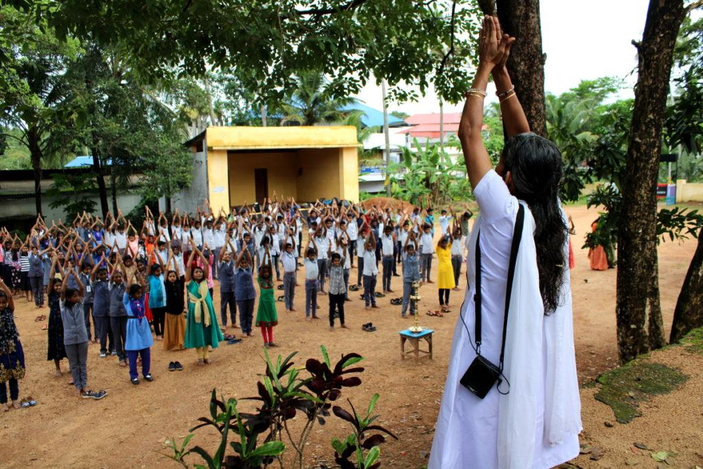 IDY2019-Govt Higher School-Koothattukulam-Kerala