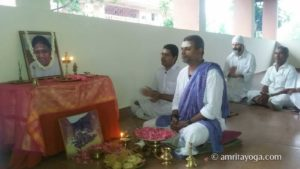 inauguration of amrita yoga retreat space at amritapuri
