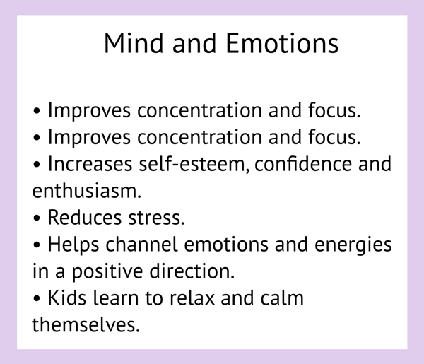Mind and Emotions list for Amrita Yoga