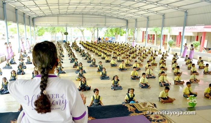 IDY2018-Nalandha School-Cumbum-Tamil Nadu