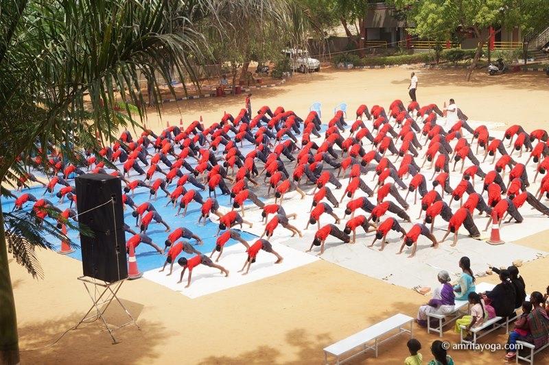 IDY2017-Nalandha School-Cumbum-Tamil Nadu